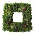 Wreath - Noble Fir Square