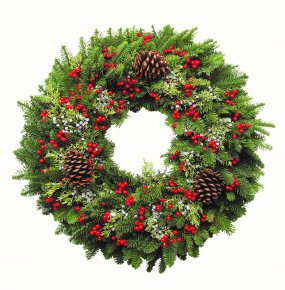 WREATHS, GARLAND & BOUGHS